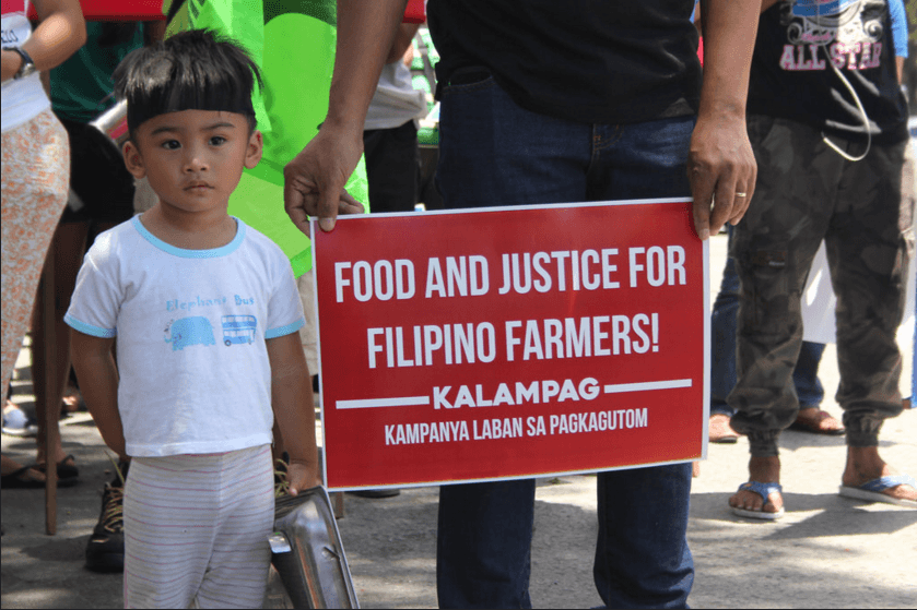 Solidarity for all Filipino Farmers in their Fight for Food and Justice