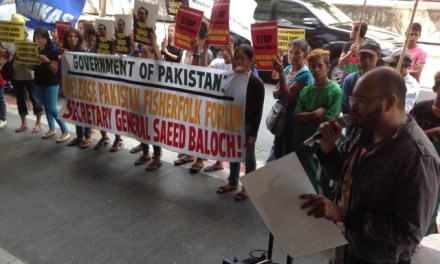 FREE SAEED BALOCH! Groups in the Philippines join the call for the immediate release of detained Pakistani activist