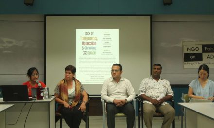 Ending ADB Immunity & Impunity Amidst Lack of Transparency, Shrinking CSO Space & Increasing Oppression