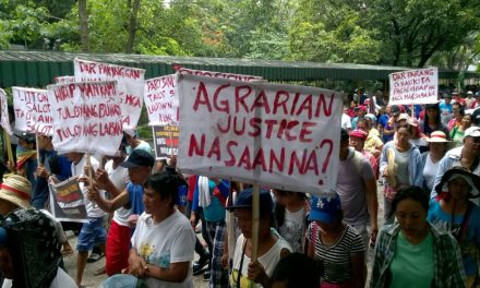"Amidst ""Martial law-like rule,"" Eviction, Harassment, Criminalization of their Struggle, Farmers Demand Agrarian Reform & Justice"