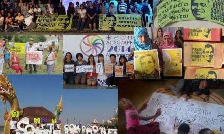 Laos: Six Years On, Civil Society Worldwide Demands Answers to the Enforced Disappearance of Sombath Somphone