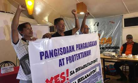 Small fishers call for pro-people rehabilitation of Manila Bay