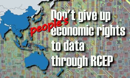 Protect people's economic rights to data, RCEP countries urged