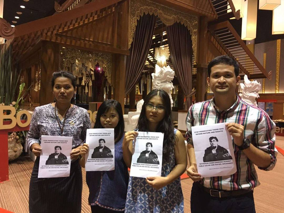 Participants at the Thai Studies Conference in Chiangmai, Thailand