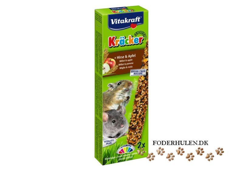 Kracker Hirse/Æble til smågnavere