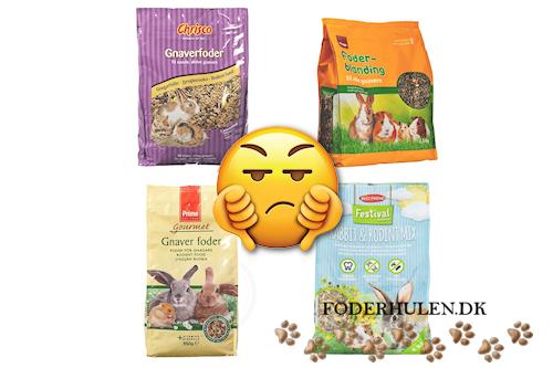 Gnaverfoder - 5 grunde til det ikke er optimal fodring af marsvin - Foderhulen.dk