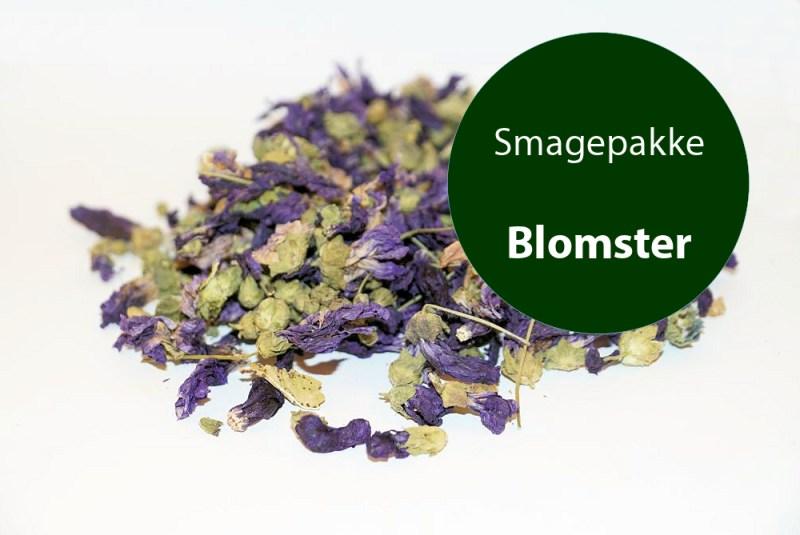 Smagepakke med blomster - Foderhulen.dk
