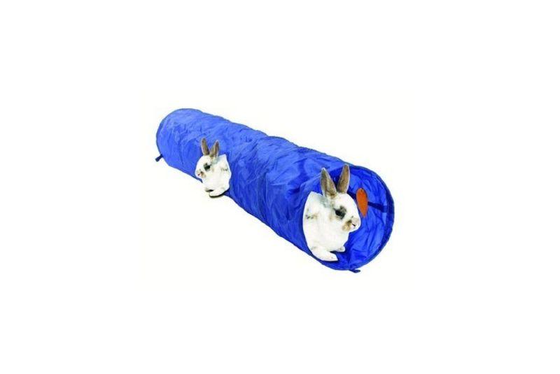 Kanintunnel i nylon - Foderhulen.dk