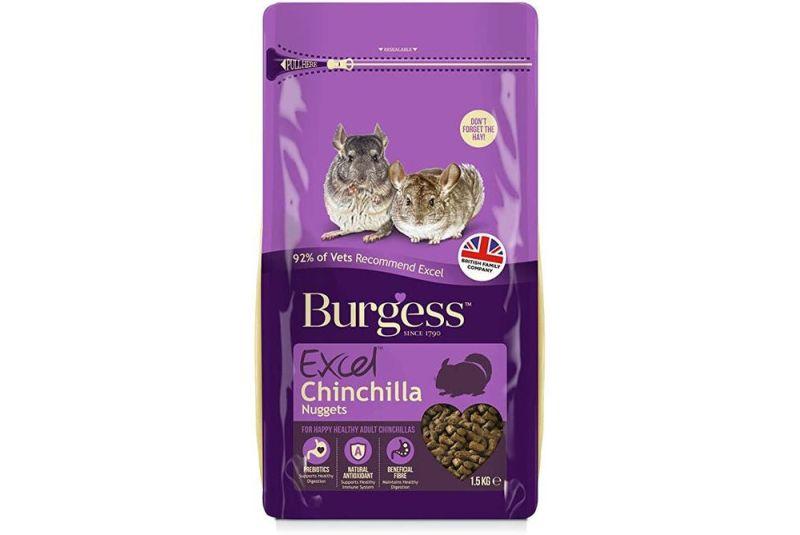Burgess Excel Chinchilla - Foderhulen.dk