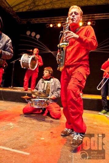 Beat 'n' Blow aus Berlin live