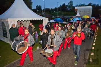Beat 'n' Blow aus Berlin live durch die Landesgartenschau