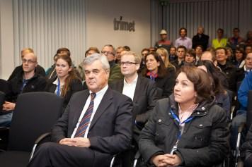 Frank Horch und die Teilnehmer bei Trimet