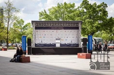 Die Lange Nacht der Industrie in Berlin 2015 - Bühne
