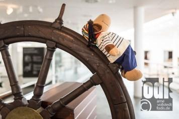 Schaf Paul im Schiffahrtsmuseum