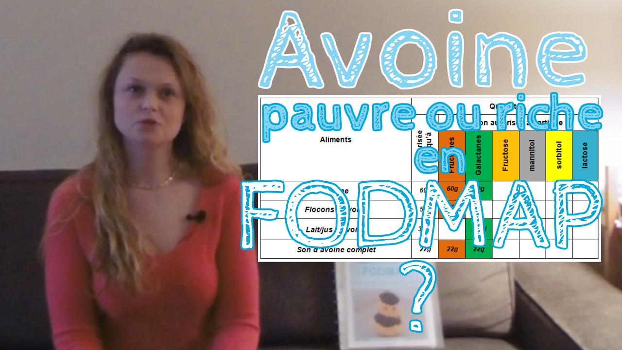 L'avoine est-il pauvre ou riche en FODMAP?
