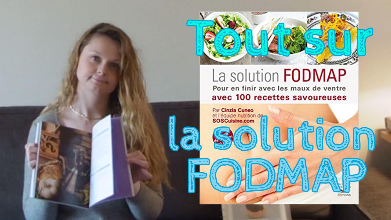 Le livre La solution FODMAP par Cinzia CUENO de SOSCuisine