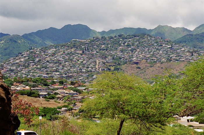 Different view of Honolulu