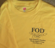 FOD awareness t-shirt