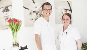 Klinik for fodterapi - Sara Lund og Christopher Winther