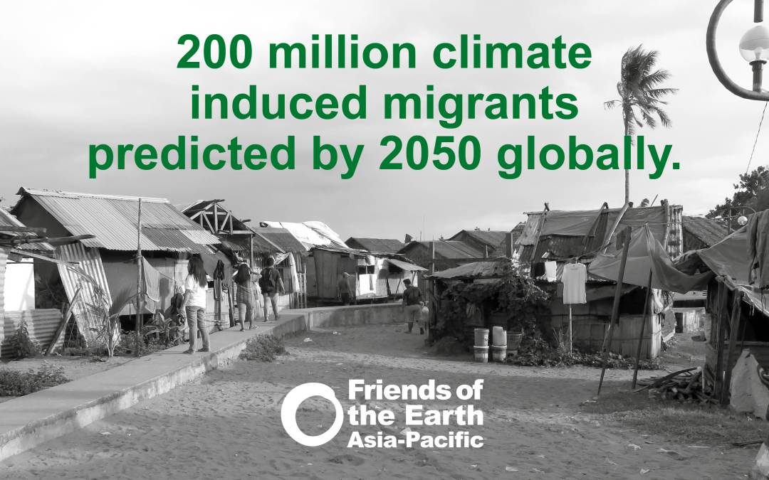Calls for Just solutions for climate induced migration in Asia Pacific