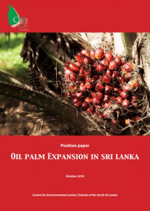 Oil Palm Expansion in Sri Lanka
