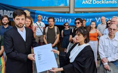 Australian Bushfire survivors launch claim against ANZ for financing climate change
