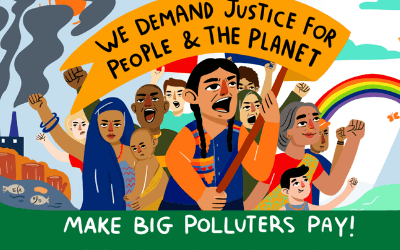 Global coalition releases liability roadmap for governments to Make Big Polluters Pay