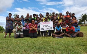 TAKE ACTION TO KEEP COAL OUT OF PNG