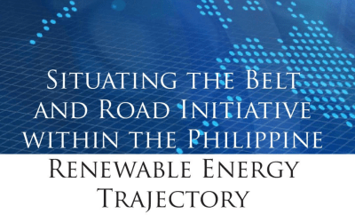 Situating the Belt and Road Initiative in the Philippine Energy Trajectory