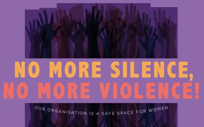 No more violence, no more silence!