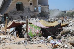 We call for a just recovery for Gaza and an immediate end to Israel's illegal occupation.