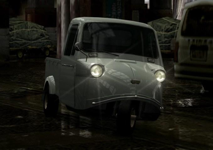 Mobil Kamikaze Pengunjung Pasar