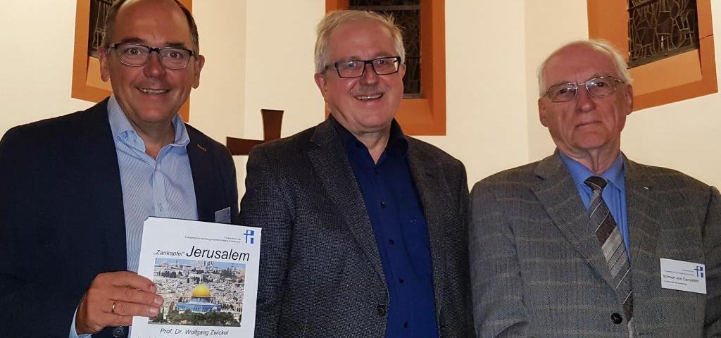 vl. Herr Sieck, Herr Prof. Dr. Zwickel, Herr Schnorr von Carolsfeld