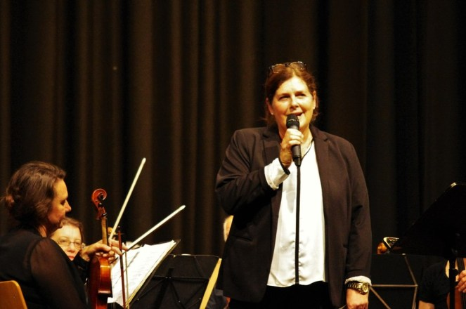 Musikschulleiterin Antonia Schwager führte durch den Abend