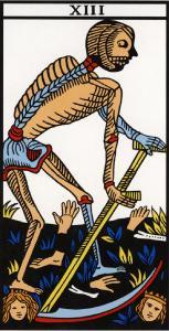 The Grim Reaper - Tarot Card XIII
