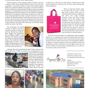passion for pregnant mothers of africa