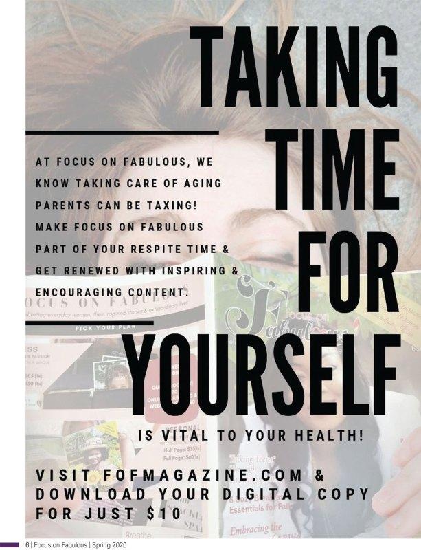 take time to breath