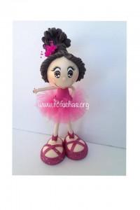 ballerina personalized fofucha