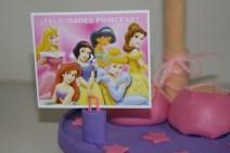 Tarjeta de felicitación personalizada Princesas