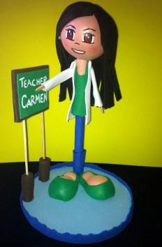 Fofuboli Teacher Carmen