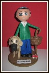 Cesar&perro Ruski frontal