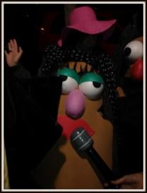 Disfraz Mrs Potato de Goma Eva