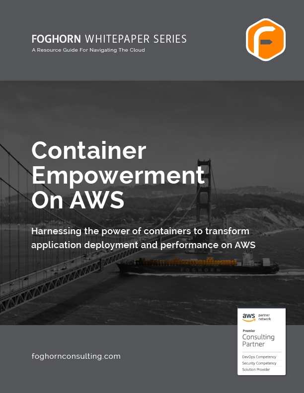 FH WHITE PAPER AWS Container Empowerment