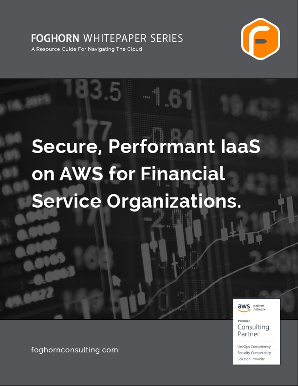 FH Whitepaper Secure Peformant IaaS on AWS for Financial Service Organizations thumbnail