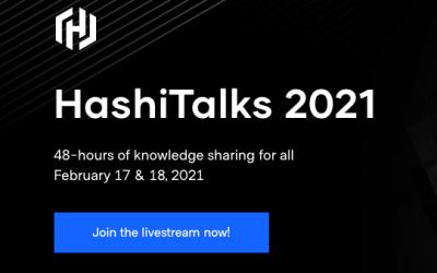 HashiTalks 2021 is Livestreaming