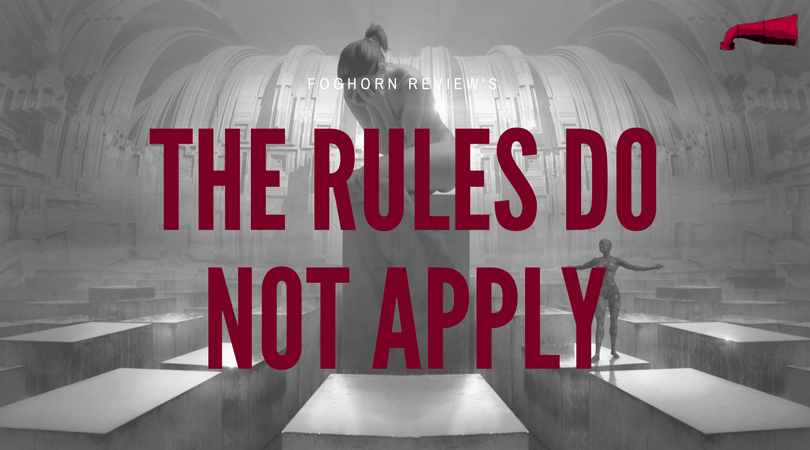 The Rules Do Not Apply Book Review