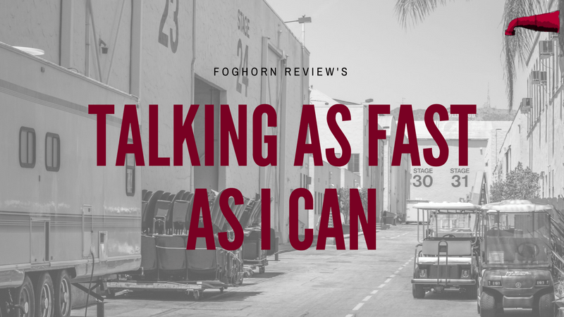 Talking As Fast As I Can Book Review