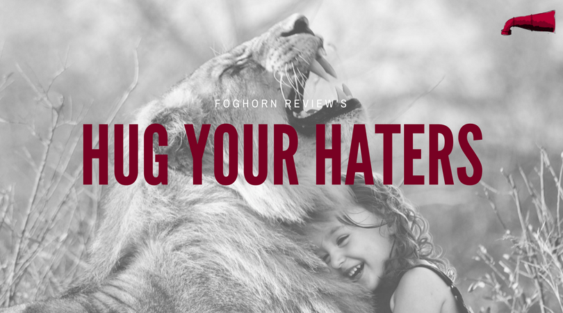 hug your haters book review
