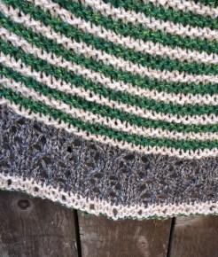 lace edge shawl icelandic bind off