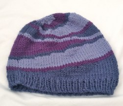wool-hat-knit-beanie-striped-hat-blue-purple-stripes-handknit-hat-handmade-warm-hat-merino-wool-silk-angora-hat